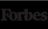 Black Forbes website logo